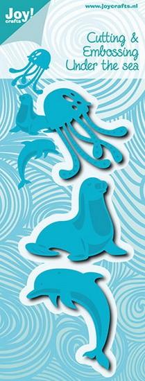 Noor! Design - Under the Sea - Zeehond, Dolfijn & Kwal