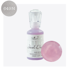 Nuvo - Jewel Drops - Pale Periwinkle