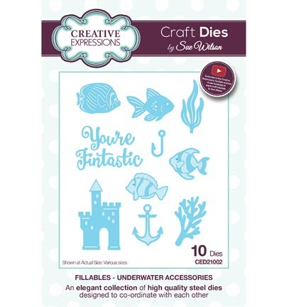 Stansmal Creative Expressions - The Fillables Collection - Underwater Accessoires