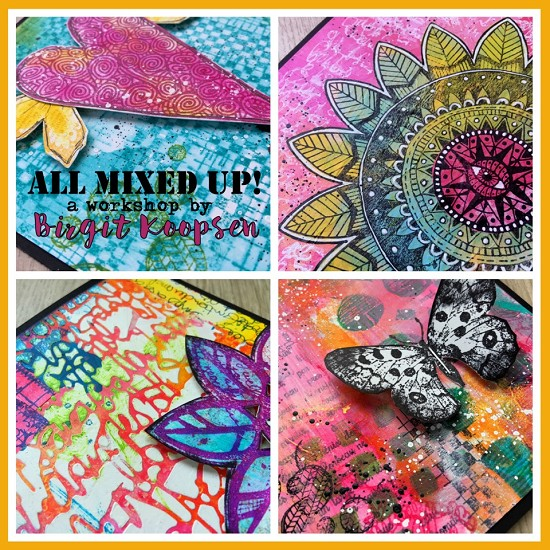 Workshop Birgit Koopsen - All Mixed Up (zaterdag 13 mei)