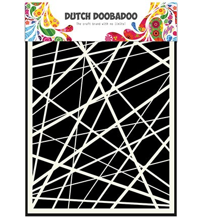 Dutch Doobadoo - Dutch Mask Art - Stripes
