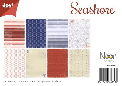 Noor! Design - Paperpad A4 - Seashore