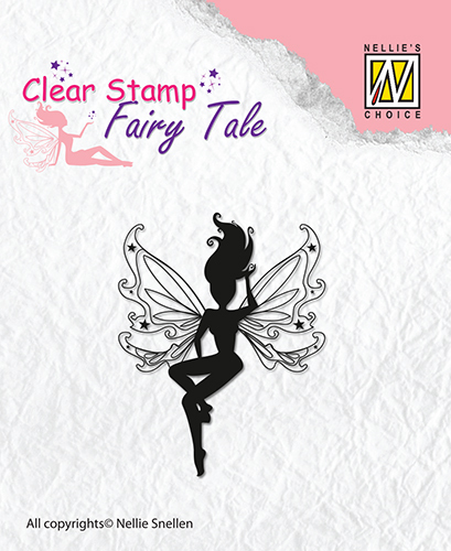 Clear stamps Nellie Snellen - Fairy Tale-3