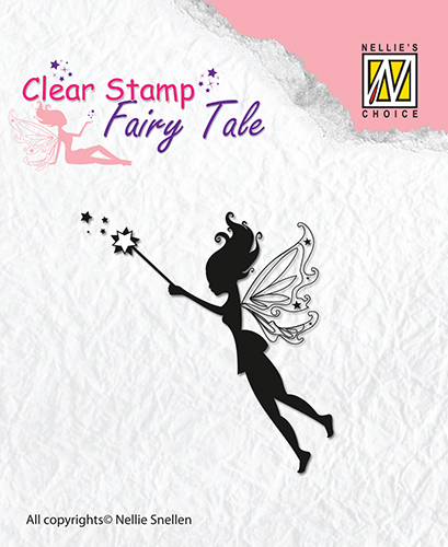 Clear stamps Nellie Snellen - Fairy Tale-1