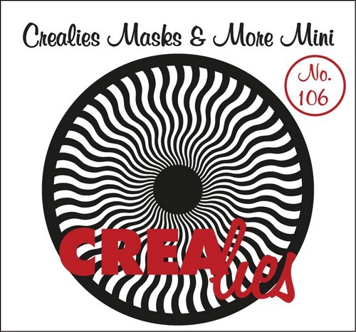 Crealies - Mask & More Mini - Mandala 106