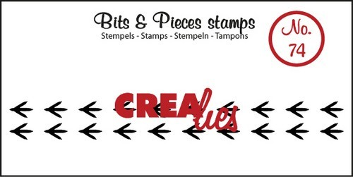 Clearstamp - Crealies - Bits & Pieces - nr 74