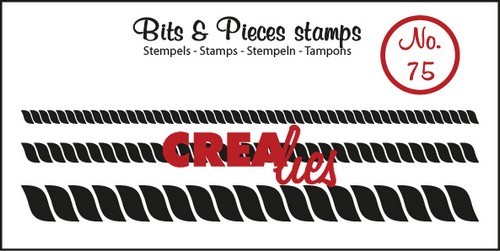 Clearstamp - Crealies - Bits & Pieces - nr 75
