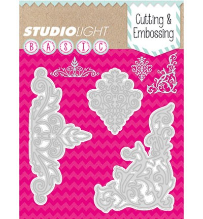 Studio Light - Basics - Cutting & Embossing stencil - STENCILSL40