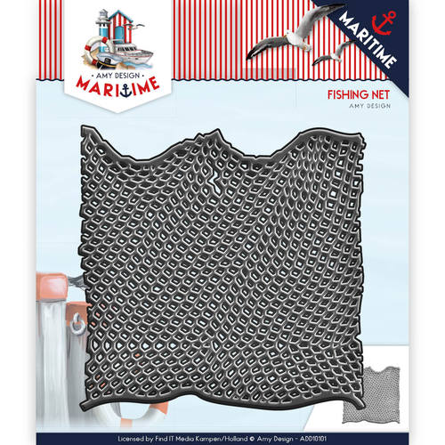 Stansmal - Amy Design - Maritime - Fishing Net