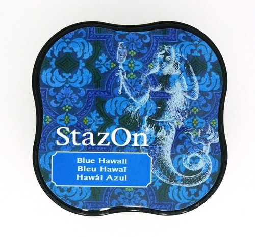 Stempelinkt - StazOn Midi - Blue Hawaii
