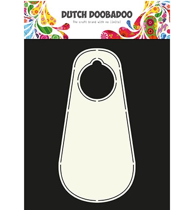 Dutch Doobadoo - Dutch Shape Art - Door label