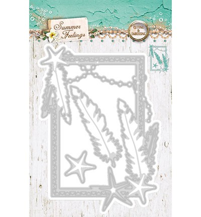 Cutting & Embossing Stencil Studio Light - Summer Feelings nr.47