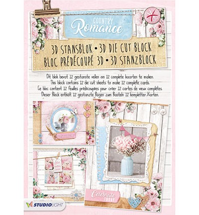 3D Stansblok Studio Light - Country Romance nr.48