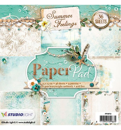 Paperpad Studio Light - Summer Feelings nr. 53