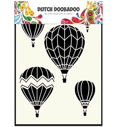 Dutch Doobadoo - Dutch Mask Art - Airballoons multi