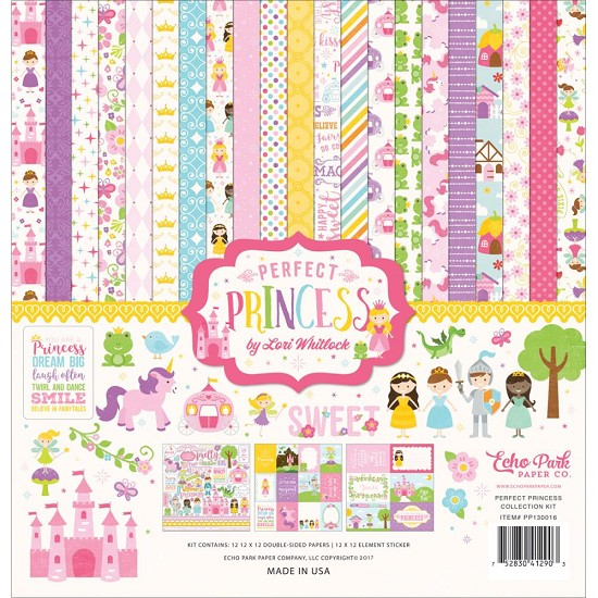 Echo Park - Collection Kit - Perfect Princess