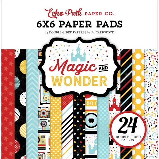 Echo Park - Magic & Wonder - Paperpad 6