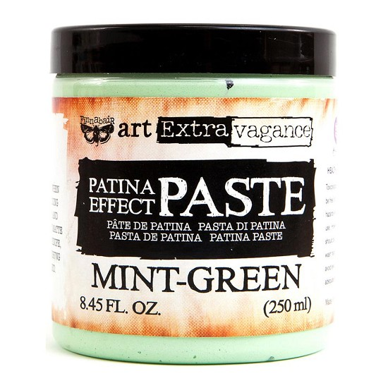 Finnabair - Art Extravagance - Patina Effect Paste 8.45oz - Mint Green