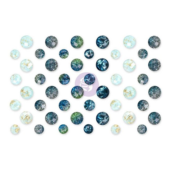 Prima Marketing - St. Tropez - Say It In Crystals Adhesive Embellishments