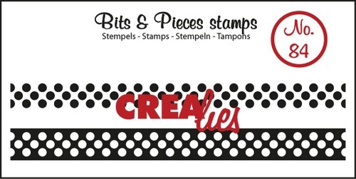 Clearstamp Crealies - Bits & Pieces - No 84 Lint Dots