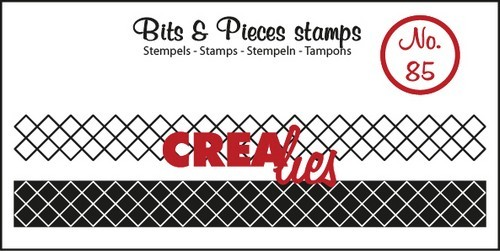 Clearstamp Crealies - Bits & Pieces - No 85 Lint XXX