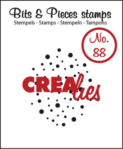 Clearstamp Crealies - Bits & Pieces - No 88 Cloud of Dots