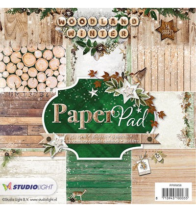 Studio Light - Woodland Winter - Paperpad PPWW56