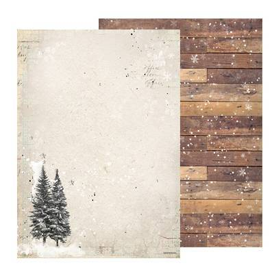 Studio Light - Woodland Winter - Basispapier BASISWW243