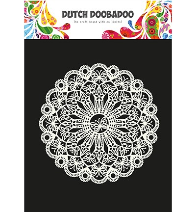 Dutch Doobadoo - Dutch Mask Art A4 - Butterfly
