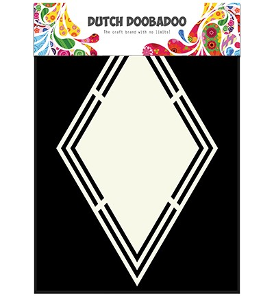 Dutch Doobadoo - Dutch Shape Art - Rhombus
