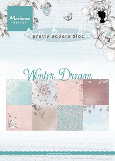 Marianne Design - Paperpad A5 - Winter Dream