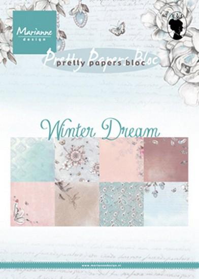 Marianne Design - Paperpad A5 - Winter Dream