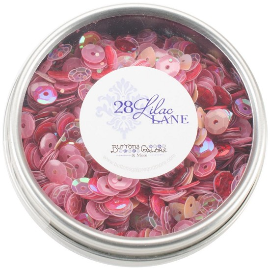 28 Lilac Lane - Tin with Sequins 40g - My Valentine