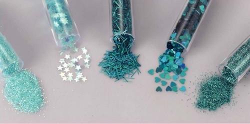 Schudmateriaal - Decoratie Glitterset Assorti - Fairy Tale