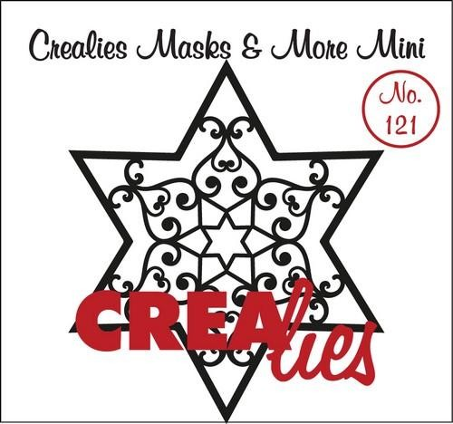 Crealies - Mask & More Mini - Ster B 121