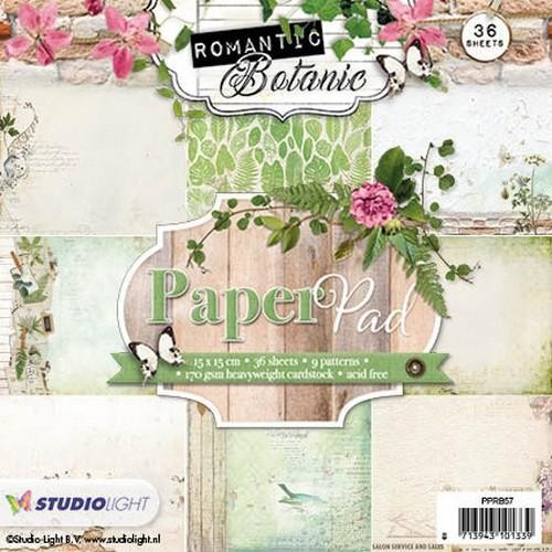 Studio Light - Paperpad Romantic Botanic - PPRB57