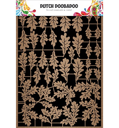 Dutch Doobadoo - Dutch Paper Art - Kraft leaves 3