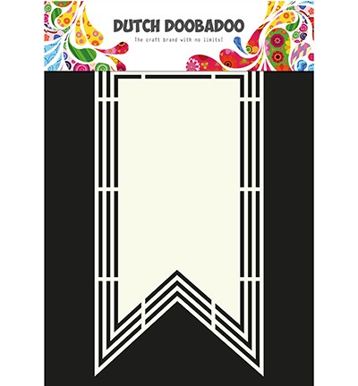 PRE-ORDER 2 - Dutch Doobadoo - Dutch Shape Art - XL Flag