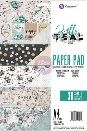 Paperpad Prima Marketing - A4 - Zella Teal
