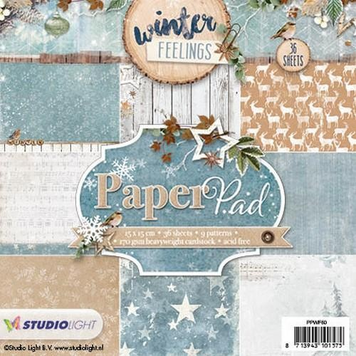 Studio Light - Winter Feelings - Paperpad PPWF60