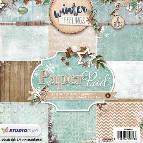 Studio Light - Winter Feelings - Paperpad PPWF59