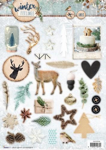 Studio Light - Winter Feelings - Stansvel A4 EASYWF599