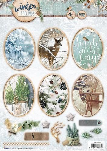 Studio Light - Winter Feelings - Stansvel A4 EASYWF597