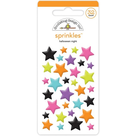 Doodlebug - Sprinkles - Halloween Night Stars