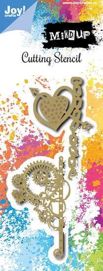 Noor! Design - Mixd Up stencils - Steampunk 2
