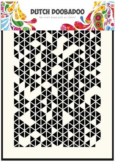 Dutch Doobadoo - Dutch Mask Art - Triangles