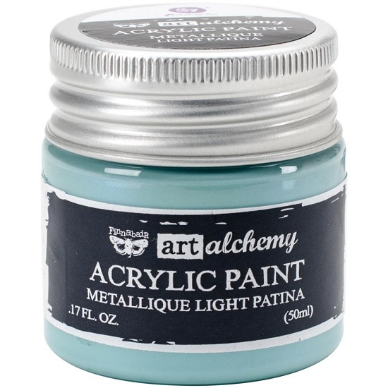 Finnabair Art Alchemy - Acrylic Paint - Metallique - Light Patina