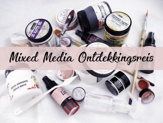 Workshop - De Mixed Media Ontdekkingsreis - Vrijdag 12 januari