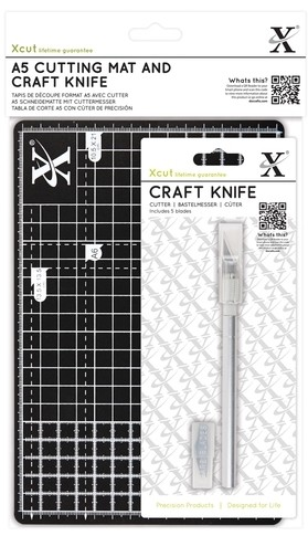 DoCrafts - A5 Cutting Mat and Craft Knife Set