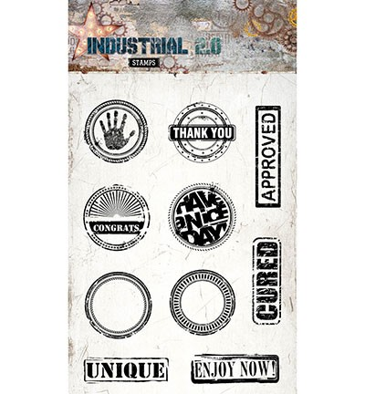Studio Light - Industrial 2.0 - Clearstamp STAMP255